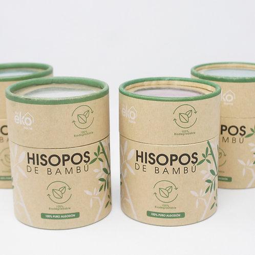 Hisopos de bambú