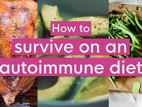 How to survive on the AIP diet