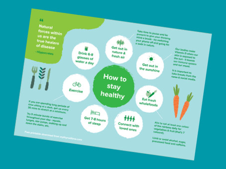 How to stay healthy (naturally) - a free PDF download