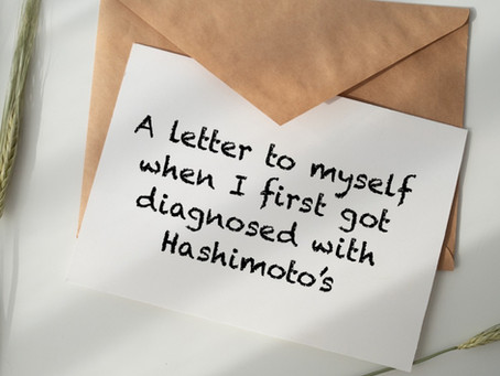 Just been diagnosed with Hashimoto's or thyroid disease? Read this.