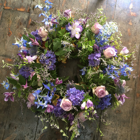 Wreath from £82.