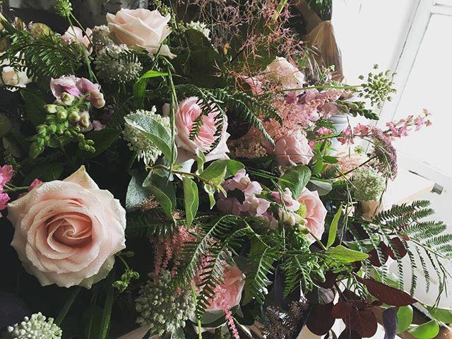 Funeral floral display