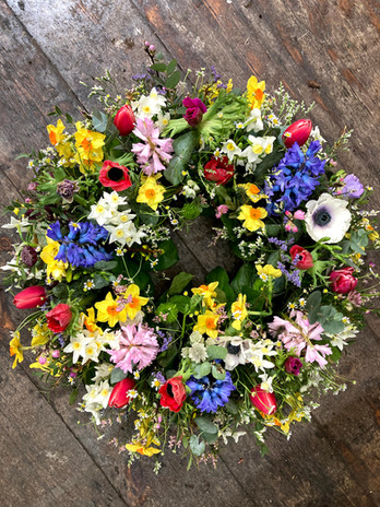 Wreath starts from £82.