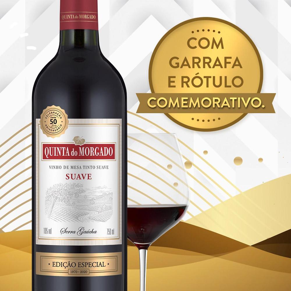 Vinícola Fante lança selo comemorativo ao cinquentenário que ocorrerá em 2020.