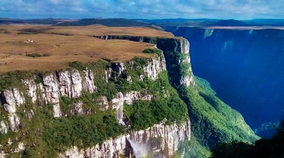 Aparados da Serra, na divisa do Rio Grande do Sul com Santa Catarina.