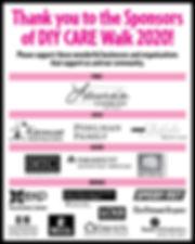 CARE Walk sponsor list for web 2020 NEW.
