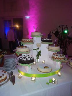 Desserts sur présentoir 1