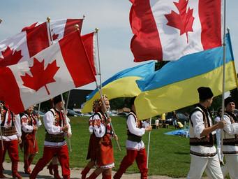 Жовто-блакитная Канада