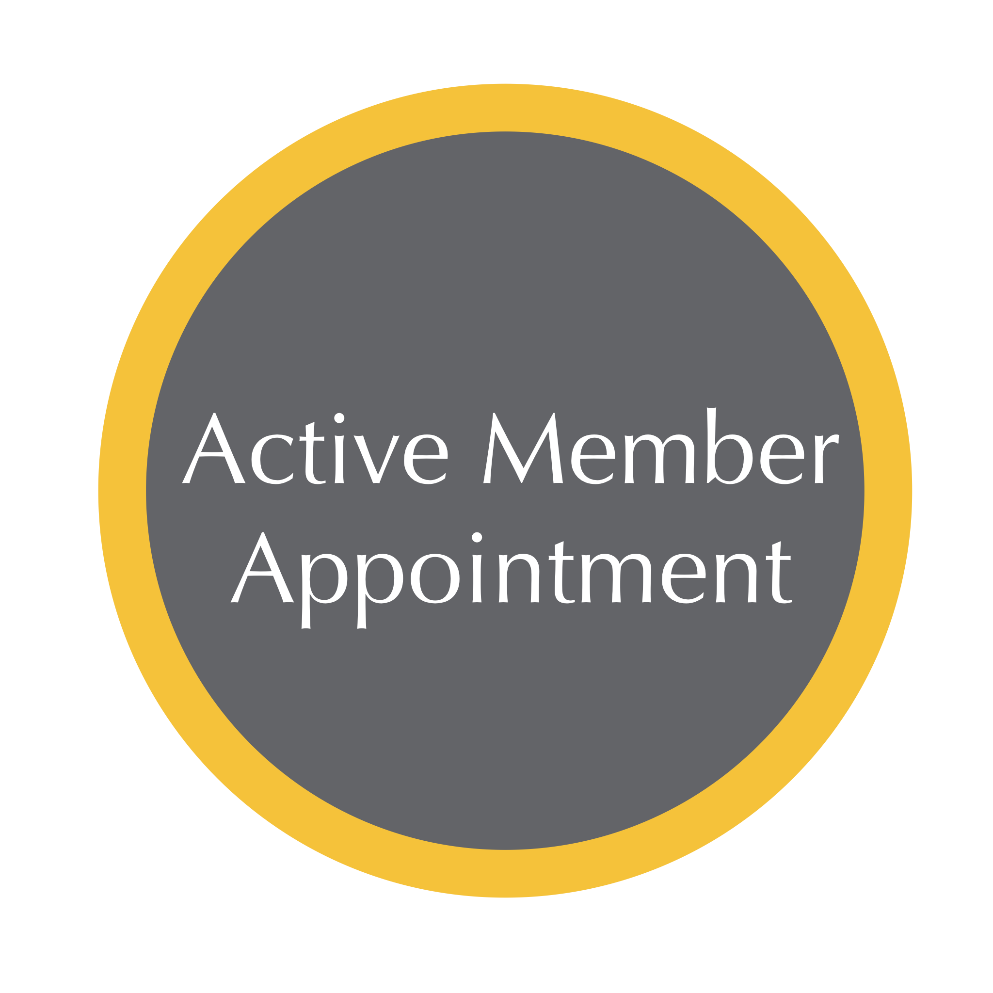 Active Member Appointment