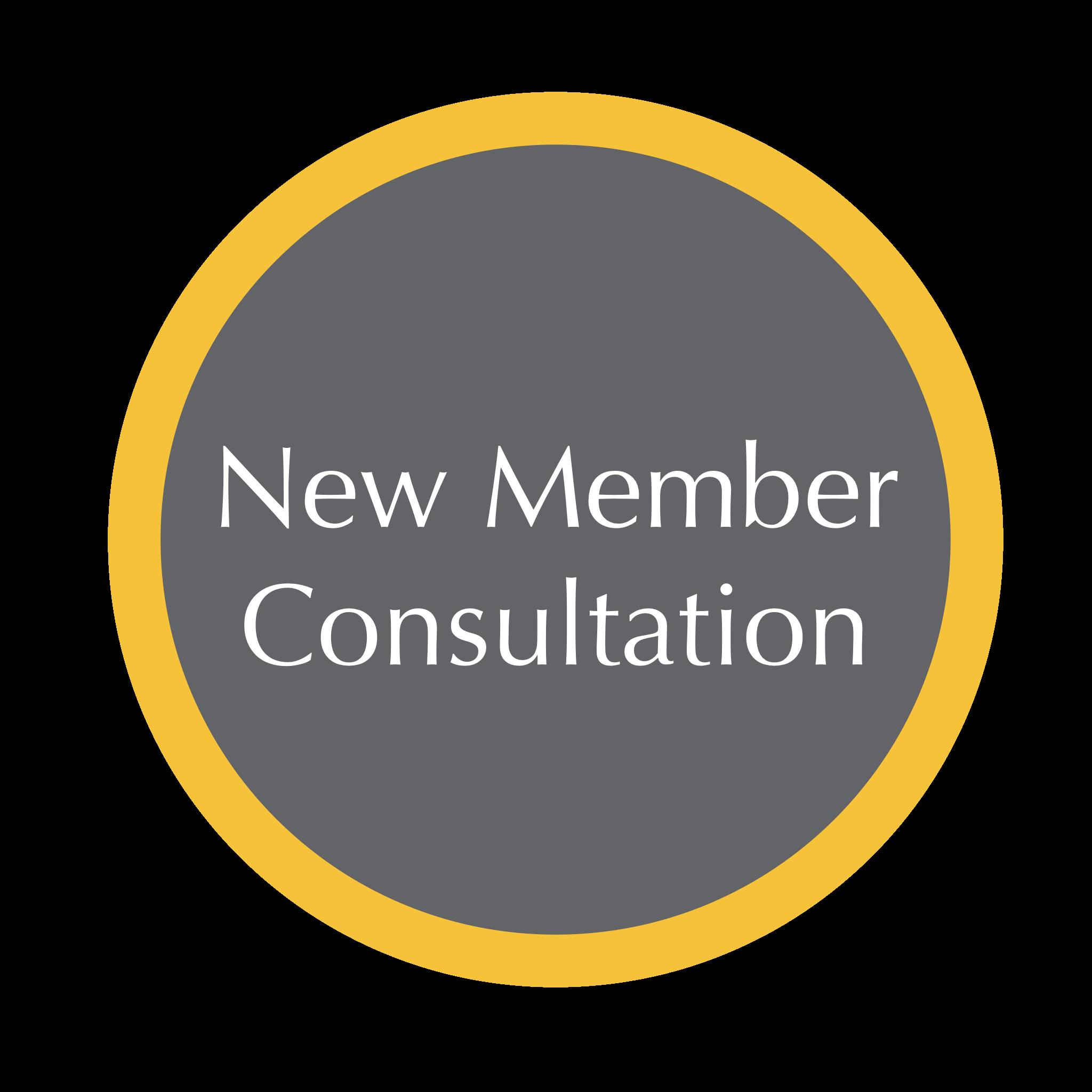 New Member Consultation