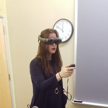 My First Demo of Magic Leap One