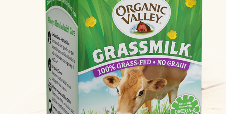 Organic Valley Grassmilk Half & Half Pint