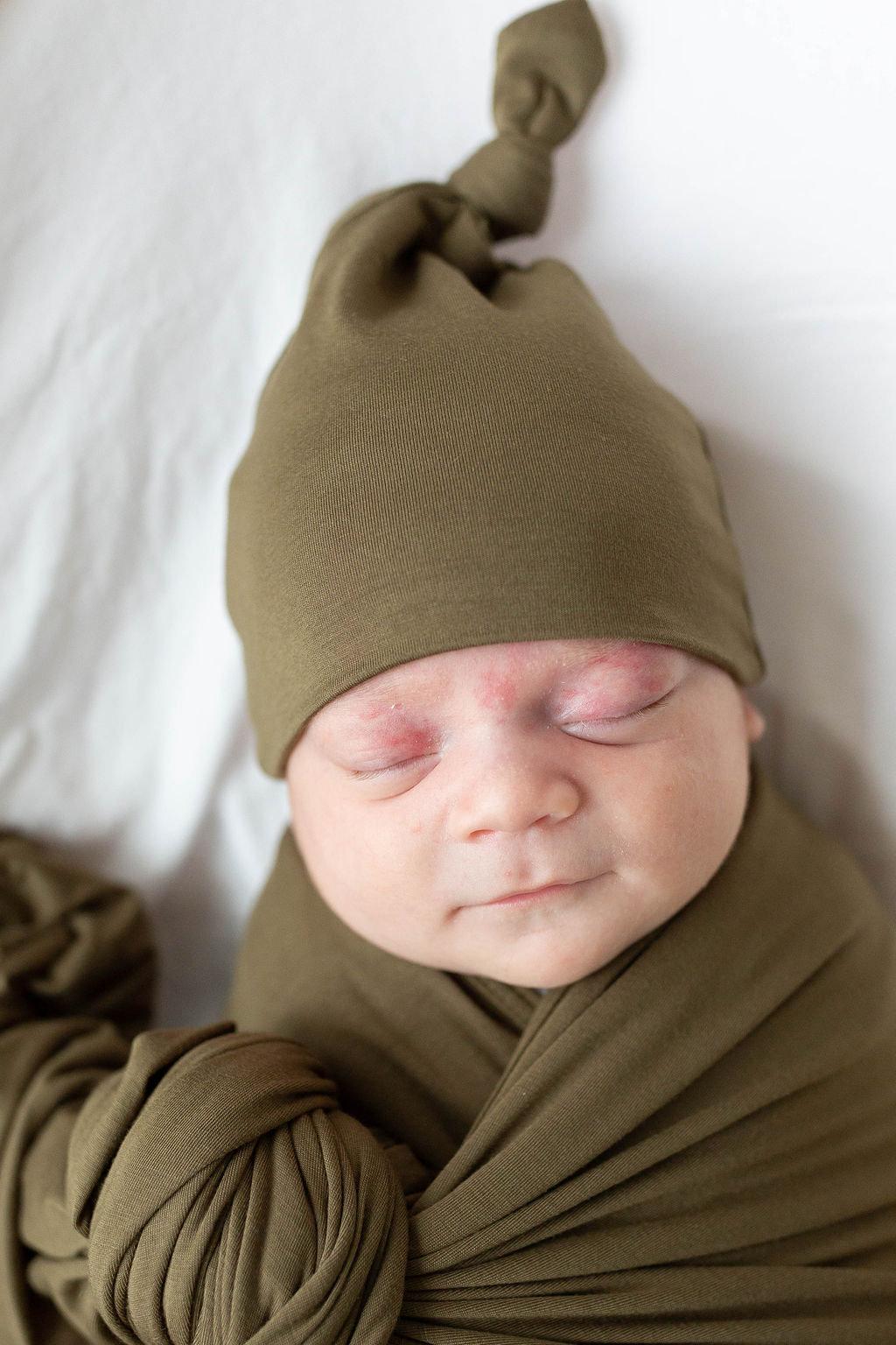 Swaddle Blanket Amp Adjustable Newborn 3 Month Baby Hat