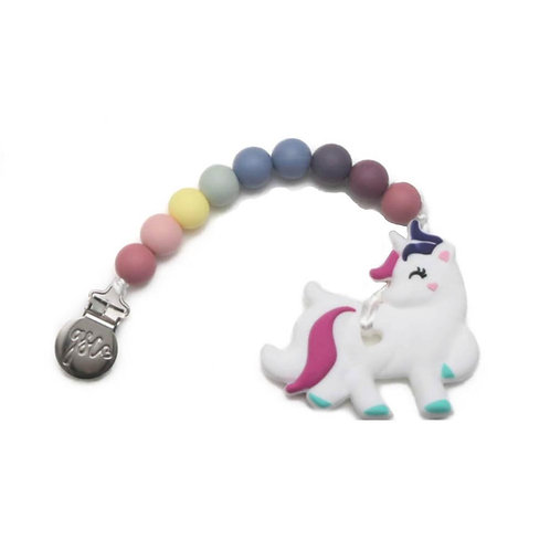 Clip on Teether - Unicorn