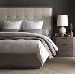 Palmer Upholstered Queen Bed