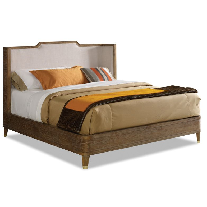 Atherton Teak King Bed $ 1,875.00