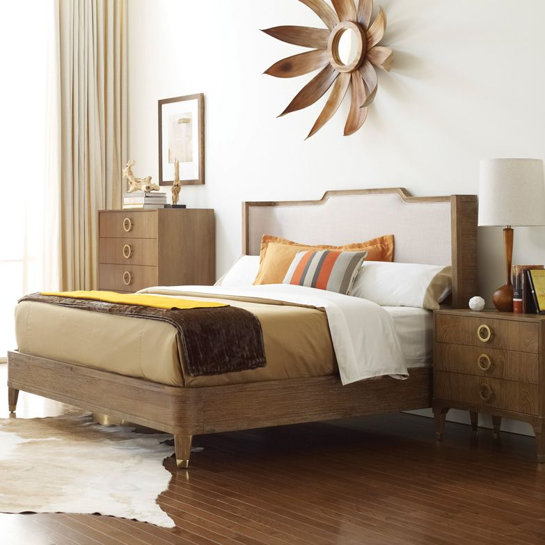 Atherton Teak Bed