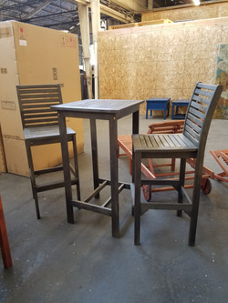 Bar Height Chairs and Table