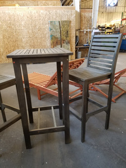 300.00 2 Chairs & Table