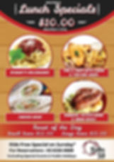 Hide Away Bistro_A1 Poster_Lunch Special