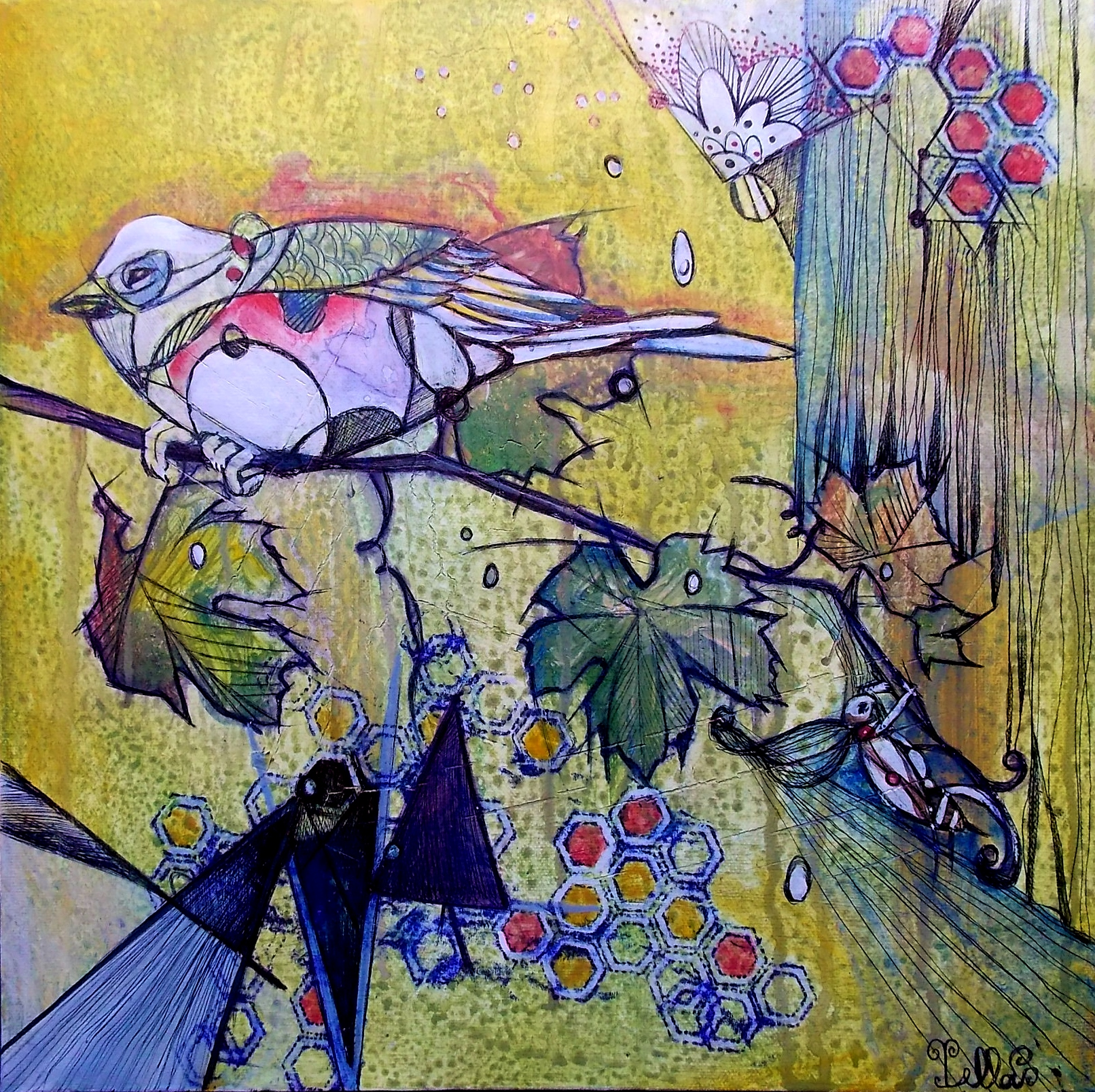 Cricket & Sparrow