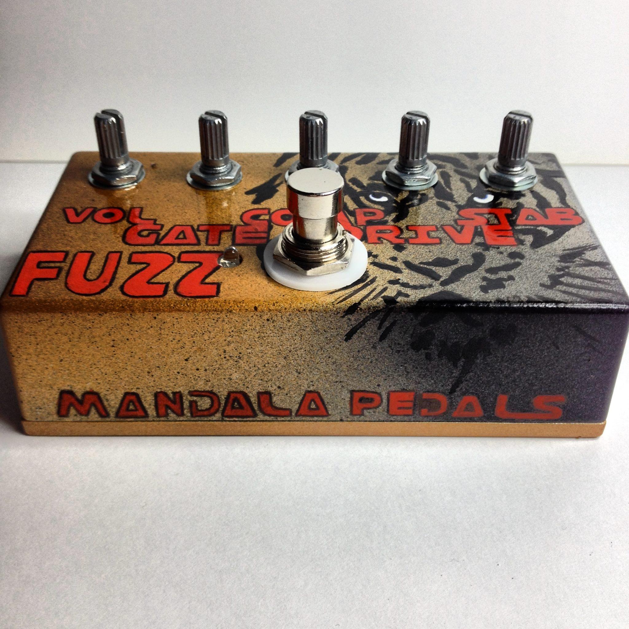 Tiger Fuzz Guitar Pedal