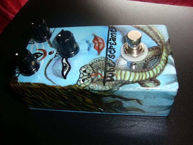 Shiva Tube Screamer Guitar Pedal