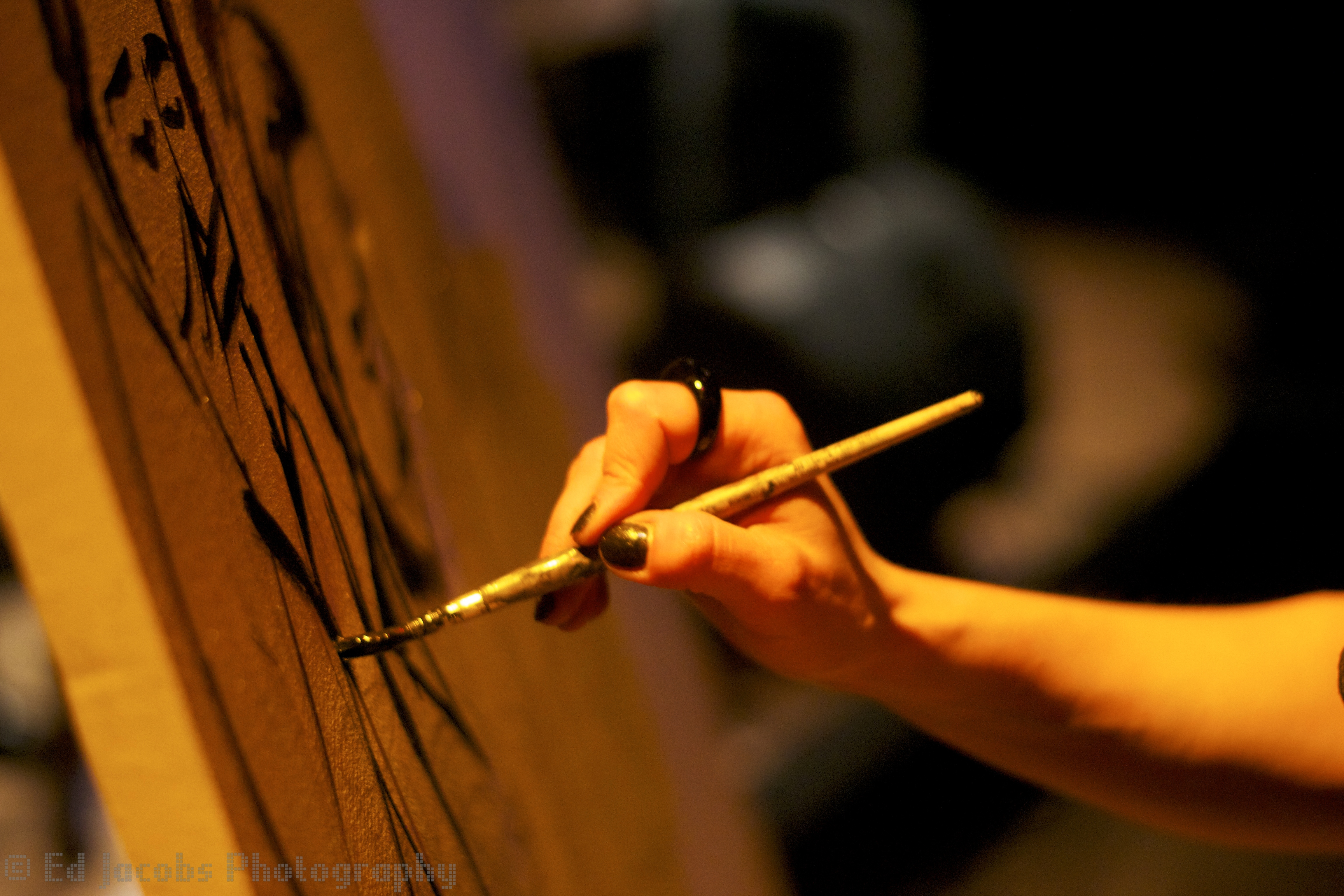 Live Painting at The Forge