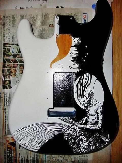 Ganesh guitar back