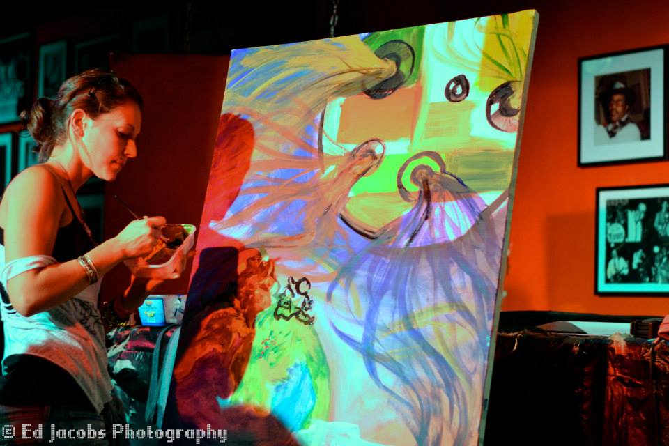 Live Painting at The 100 Club