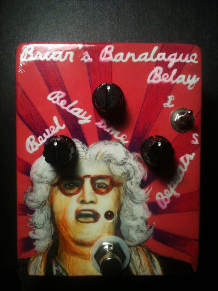 Brian Badondi Delay Guitar Pedal