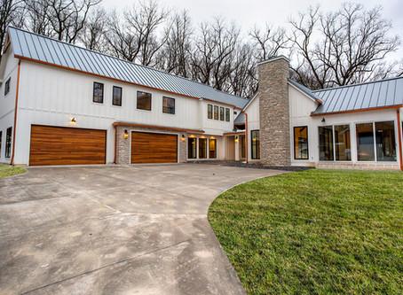 Modern Industrial Farmhouse – West Des Moines, Iowa Custom Home by Mainbuilt