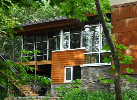 Contemporary Forest Retreat – Mainbuilt Custom Homes, Iowa