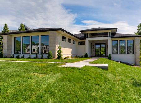 Scenic Valley Prairie Style Custom Home – West Des Moines, Iowa