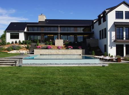 Contemporary Resort Style Custom Home in Iowa