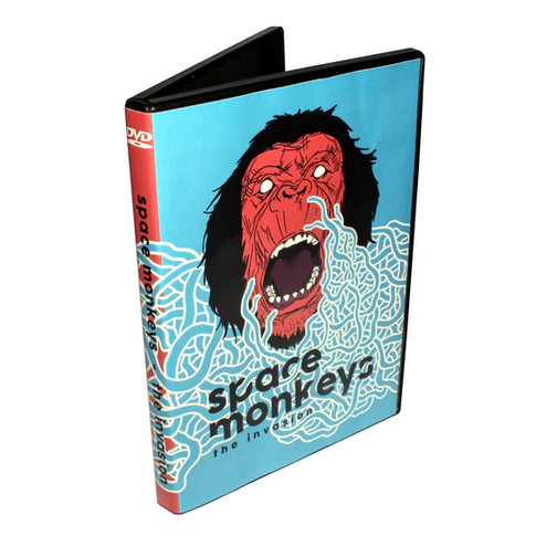 Space Monkeys Album Design