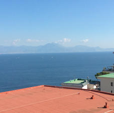 View over the Bay of Naples