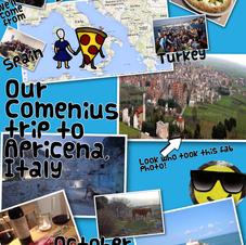 Collage of Apriecena trip