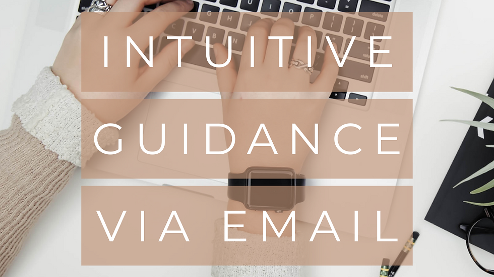 Intuitive Guidance via Email
