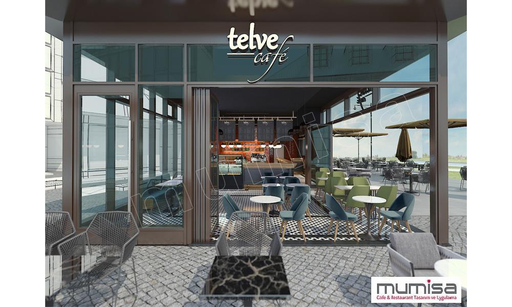 Cafe Teras Tasarım