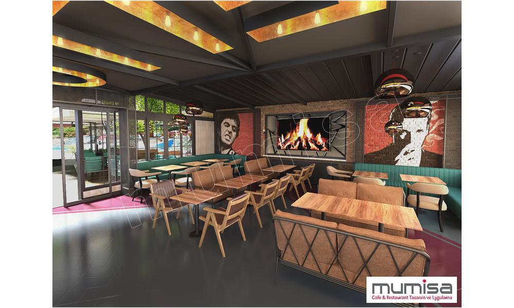 3D Cafe Tasarım