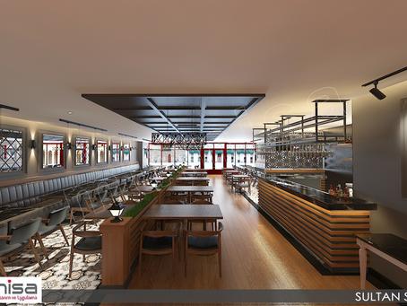 Cafe Restaurant Tasarım ve Uygulama