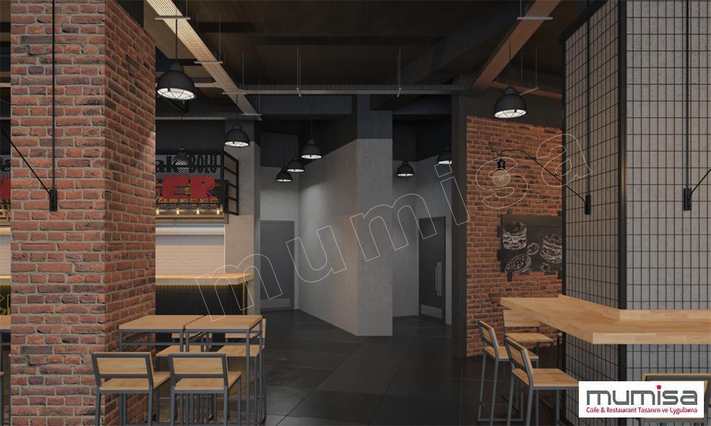 3D Fast Food Tasarım