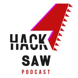 Hacksaw Podcast logo