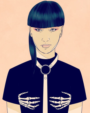 Aya Sato Illustration