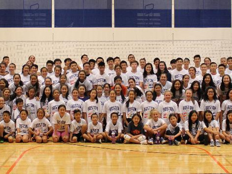 Celebrating a Successful 2019 Summer Volleyball Clinic