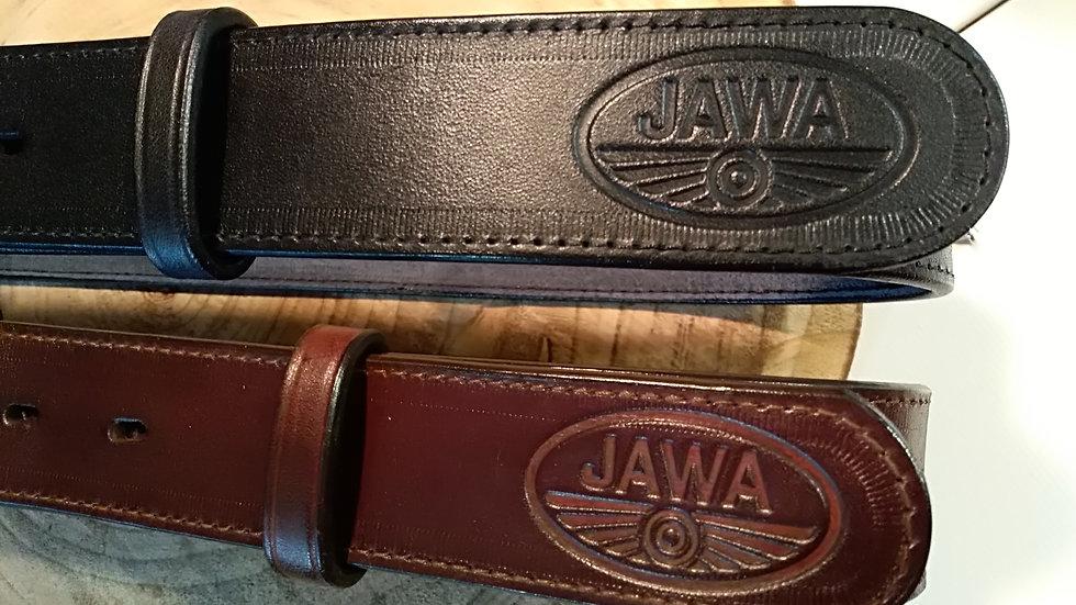 Prošívaný opasek Jawa - licenční