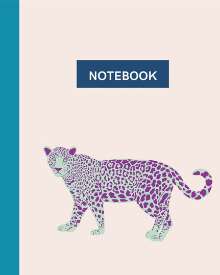Notebook - Pink Leopard