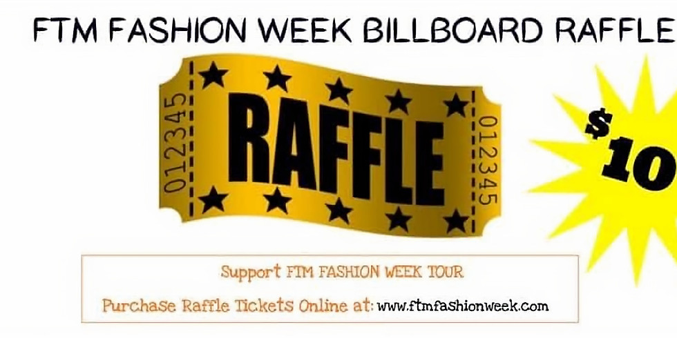 FTM Fashion Week NC Billboard Contest