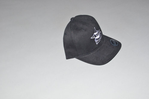 black velcro crown profile folded